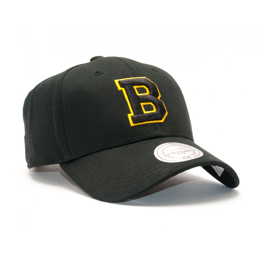 wholesale dealer ce2b9 02471 NHL Boston Bruins Team Logo Low Profile Strapback