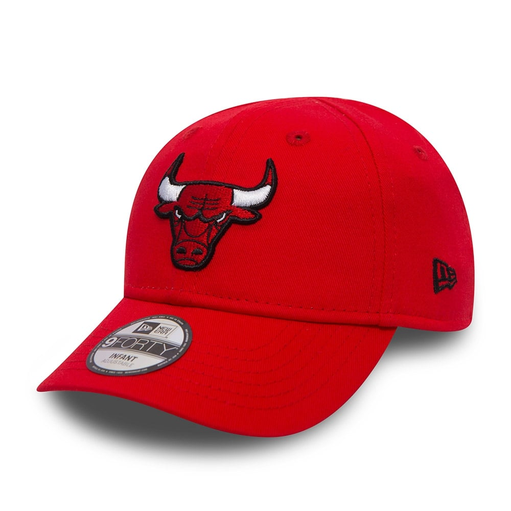New Era NBA Chicago Bulls Youth Essential 9Forty Adjustable Cap ... 8466dfe4771
