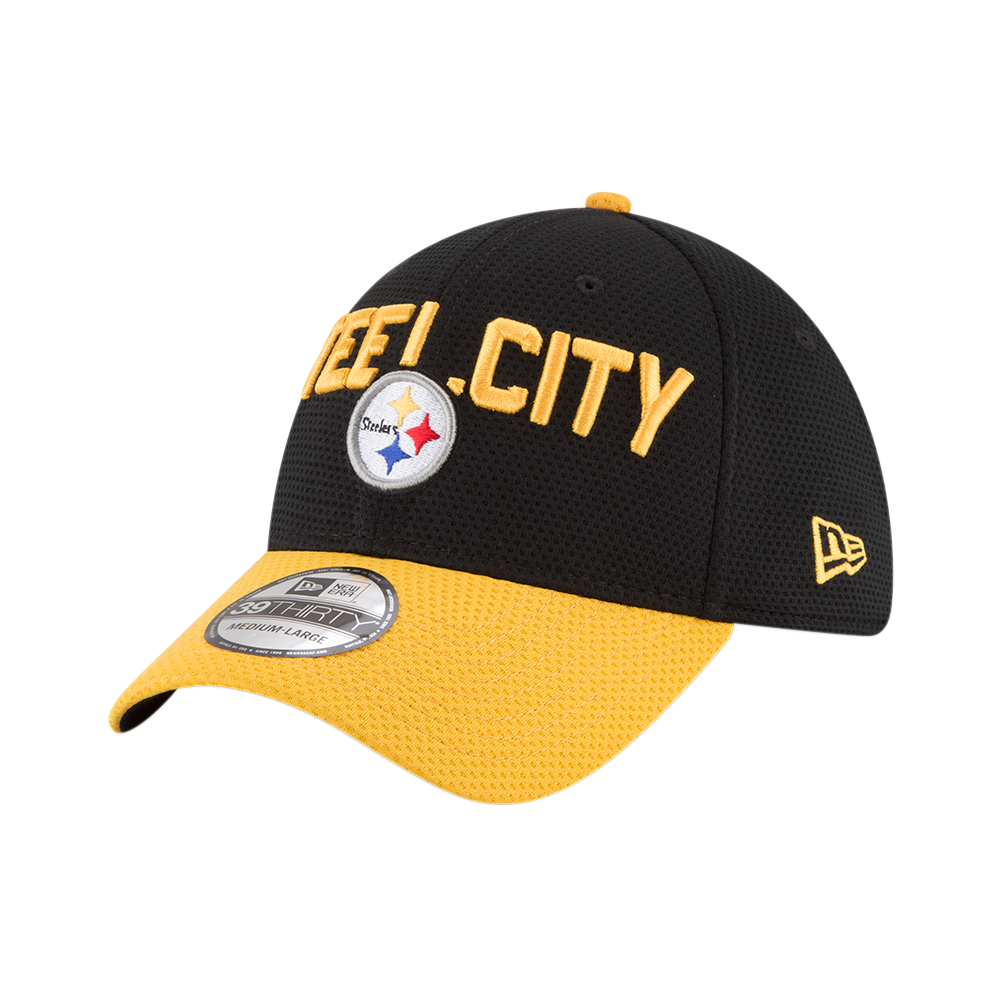 NFL 2018 DRAFT Pittsburgh Steelers New Era 39Thirty Cap