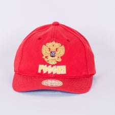 9b3ede5e0a14e World Cup Of Hockey Team Russia Red Adjustable Backstrap Cap